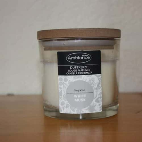 Ambiance Geur kaars White Musk