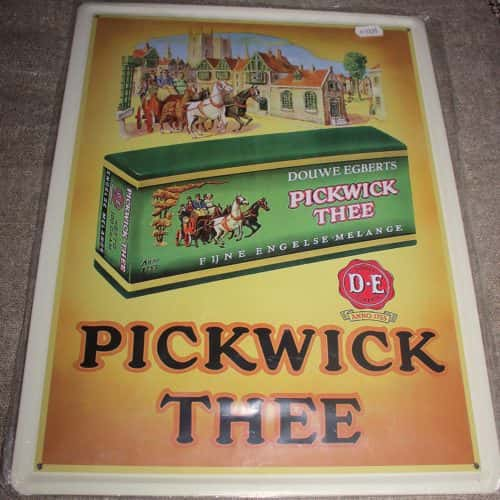 Reclamebord Pickwick Thee