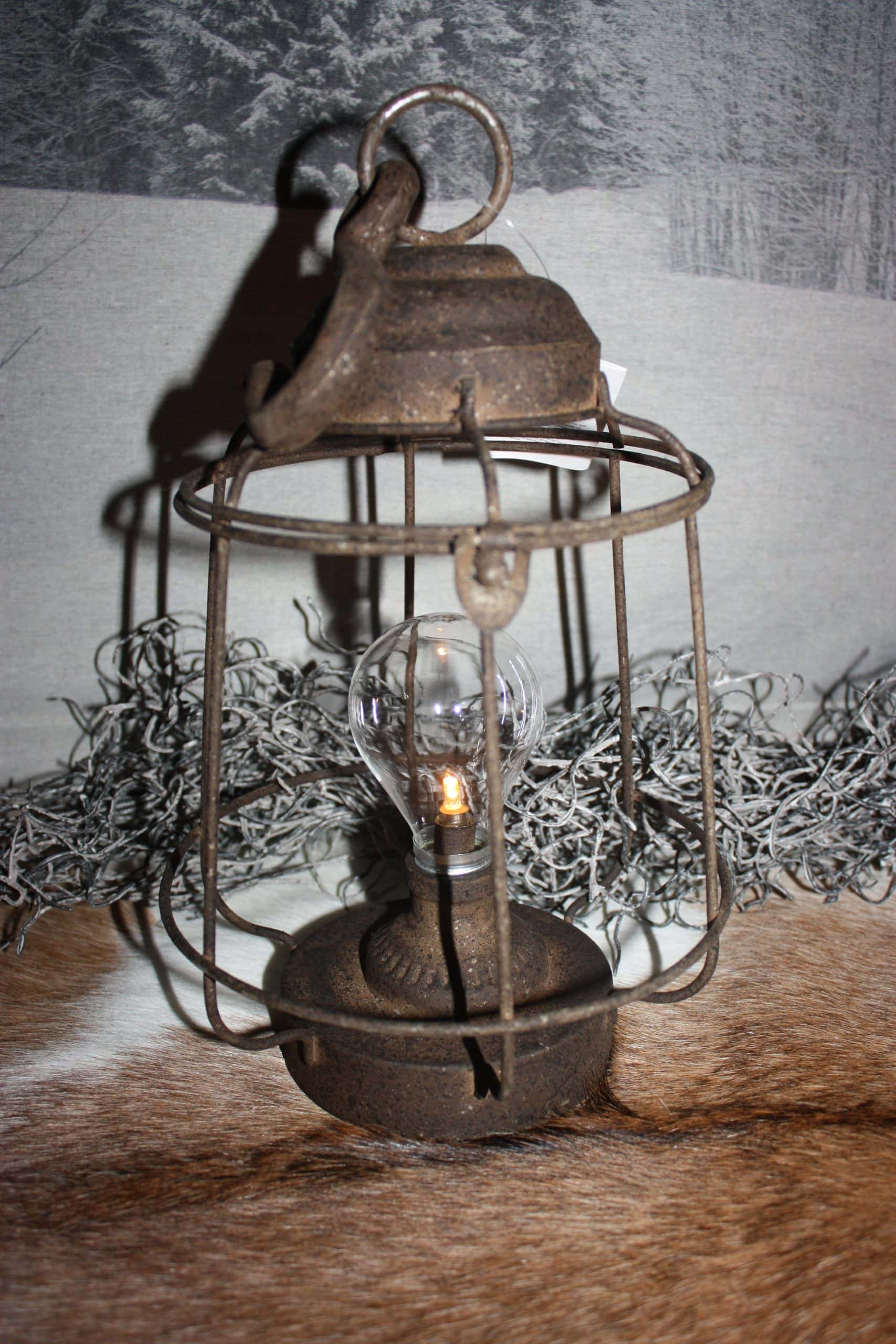 industriele countryfield lamp