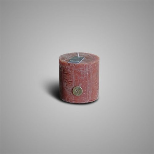 Rustic Candle Cognac ⌀ 10 x H 10